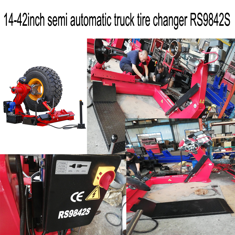 14-42inch semi automatic truck tire changer